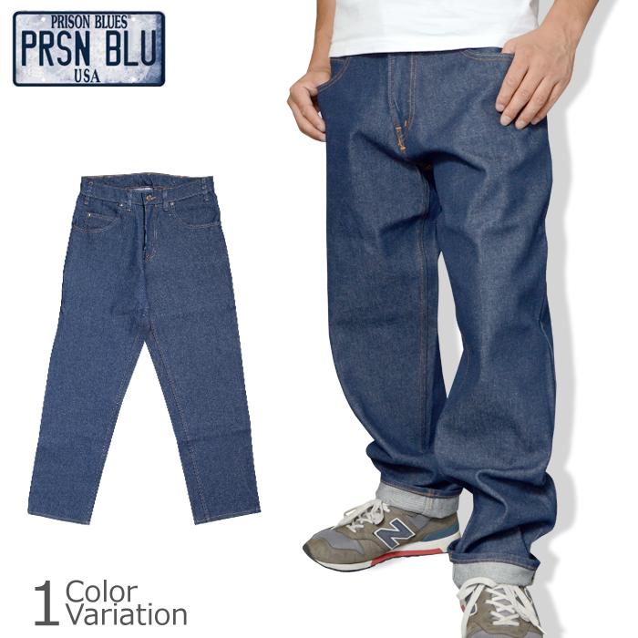 PRISON BLUES(プリズン ブルース) DENIM WORK PANTS デニム ワーク パンツ PRB122