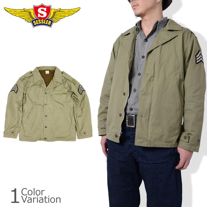 SESSLER ( seslar ) M-41 FIELD JACKET WW2 MODEL PACH (patch with M-41 field  jacket WWII model) #A-812-SGT