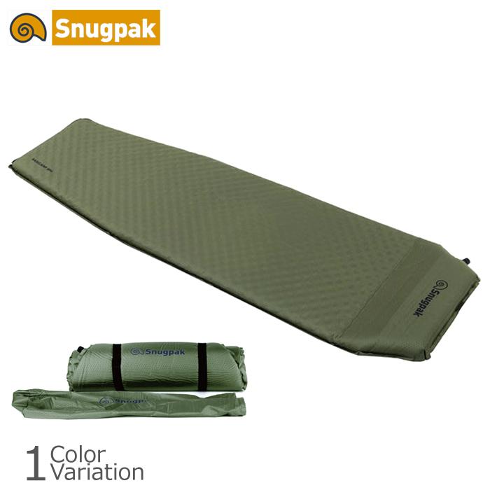 キャンプ 初回限定 バースデー 記念日 ギフト 贈物 お勧め 通販 マット ツーリング アウトドア 野営 ミリタリー スナグパック Snug ピロー内蔵式 Pak XL セルフインフレーティングマット