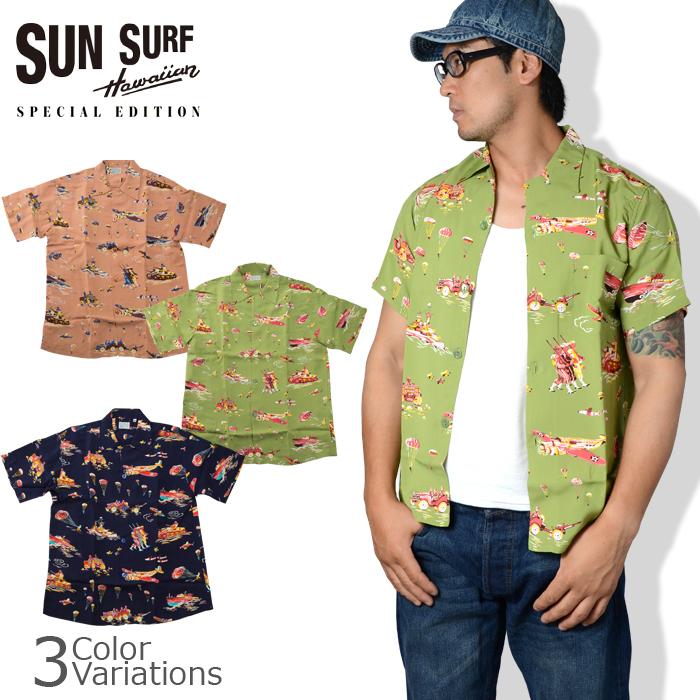 SUN SURF(サンサーフ) アロハシャツ