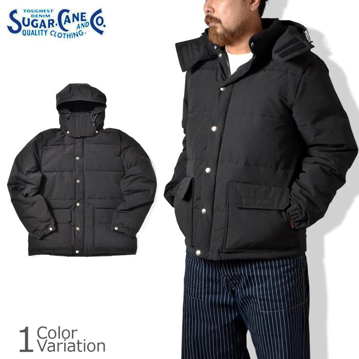 SUGAR CANE & Co.(シュガーケーン) NYLON/COTTON DOWN JACKET ナイロン コットン ダウン ジャケット SC14450