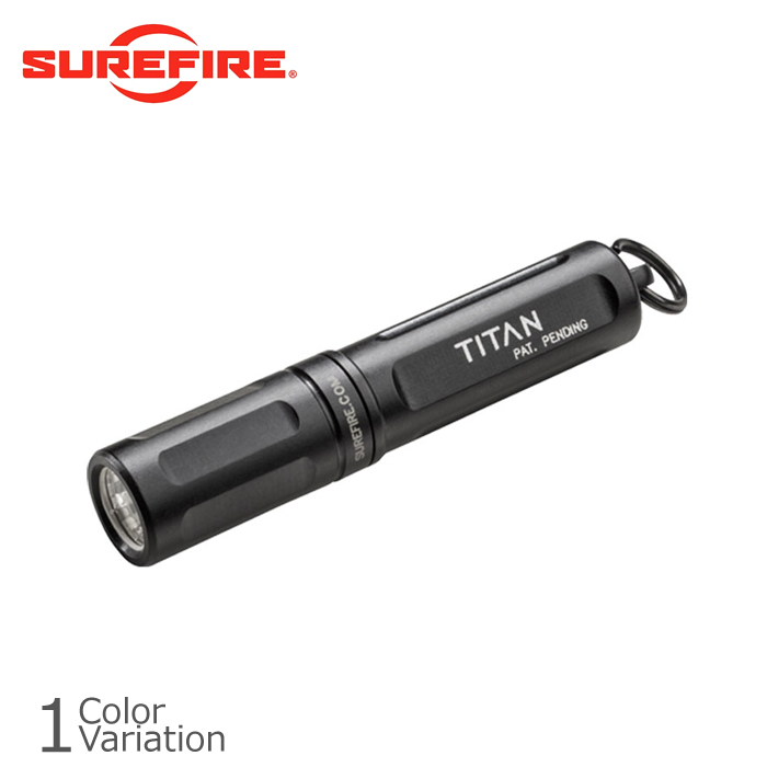 SURE FIRE(シュアファイア) TITAN Ultra-Compact Dual-Output LED Keychain Light タイタン キーチェンライト TITAN-A