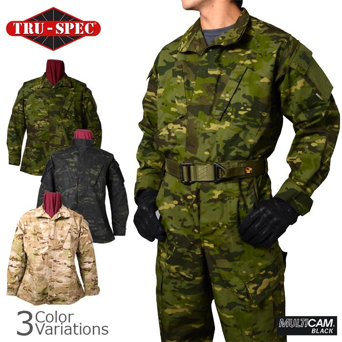 TRU-SPEC(トゥルースペック) BDUジャケット MULTICAM マルチカムファミリー 【中田商店商品取扱店】A-1130,A-1170