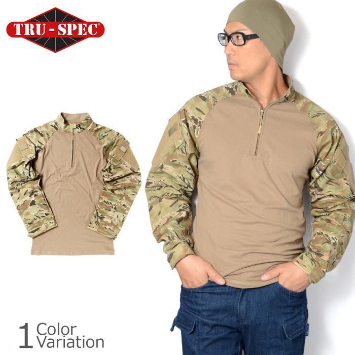 TRU-SPEC(トゥルースペック) 1/4 ZIP COMBAT SHIRT コンバットシャツ