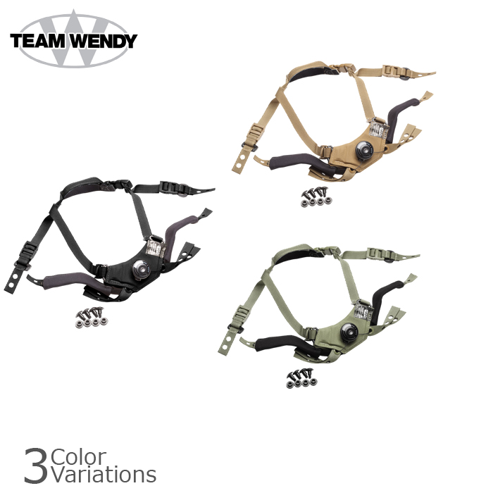 TEAM WENDY (teamwendy) CAM FIT Retention System came fit retention system chinstrap TW-21