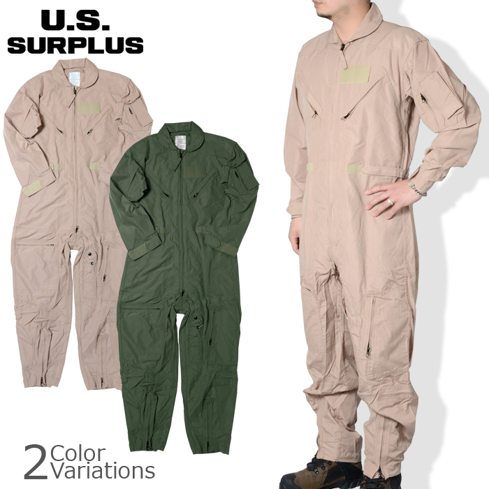U.S SURPLUS(USサープラス) 米軍放出未使用 CWU-27/P カバーオール フライヤーズ