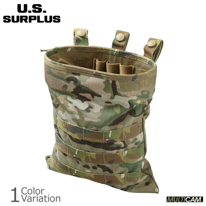 U.S SURPLUS(USサープラス) 米軍放出未使用品 SOFLCS マガジン ダンプポーチ ロールアップ