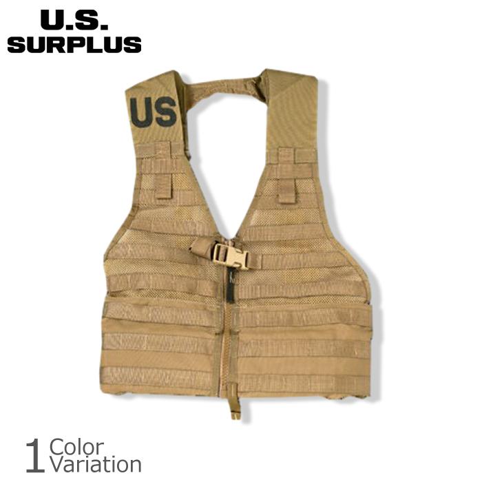 U.S SURPLUS(USサープラス) U.S 米軍放出未使用品 MOLLE VEST FLC VEST FLC ファイティングロードキャリア, 水谷つり具:81073bfd --- wap.cadernosp.com.br