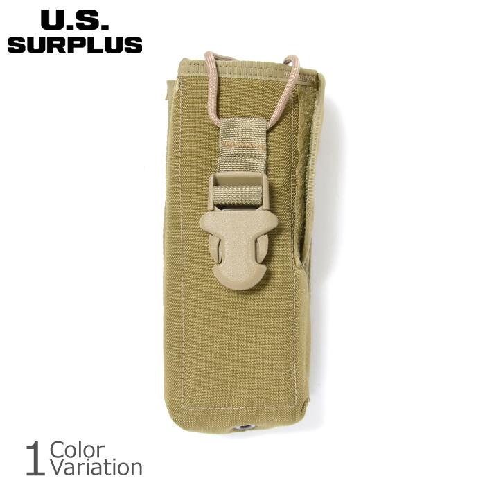 U.S SURPLUS(USサープラス) 米軍放出未使用品 SFLCS RADIO POCKET MBITR ラジオ ポーチ