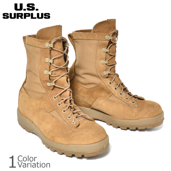 U.S SURPLUS(USサープラス) 米軍放出未使用品 McRae製 Temperate Weather ARMY COMBAT BOOTS GORE-TEX アーミーコンバット ブーツ ゴアテックス