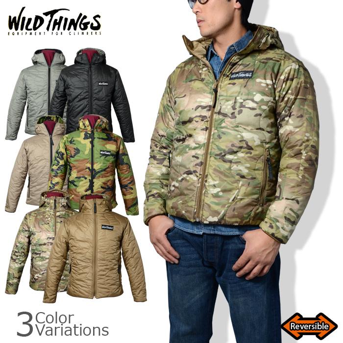 WILD THINGS(ワイルドシングス) HOODED PRIMALOFT JACKET フーデッド プリマロフトジャケット 14FWWT010016