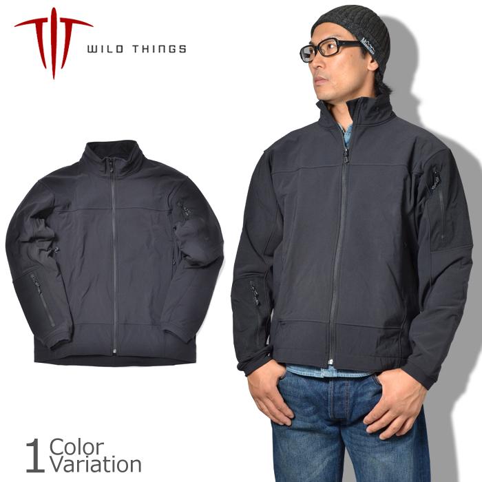 WILD THINGS(ワイルドシングス) Soft Shell Jacket ソフトシェルジャケット