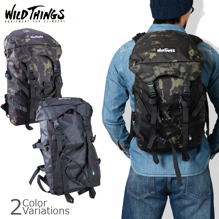 WILD THINGS(ワイルドシングス) FLAP PACK X-PACK フラップバック エックス パック WT-380-0071