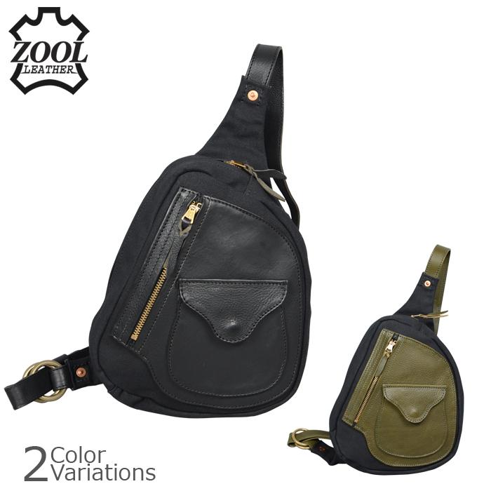 ZOOL LEATHER(ズールレザー) D-pocket ワンショルダーBag ZL-Dbag