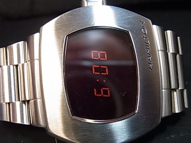 ハミルトン PSR パルサー50周年記念復刻 美品 中古 超特価SALE開催 H52414130 在庫限り