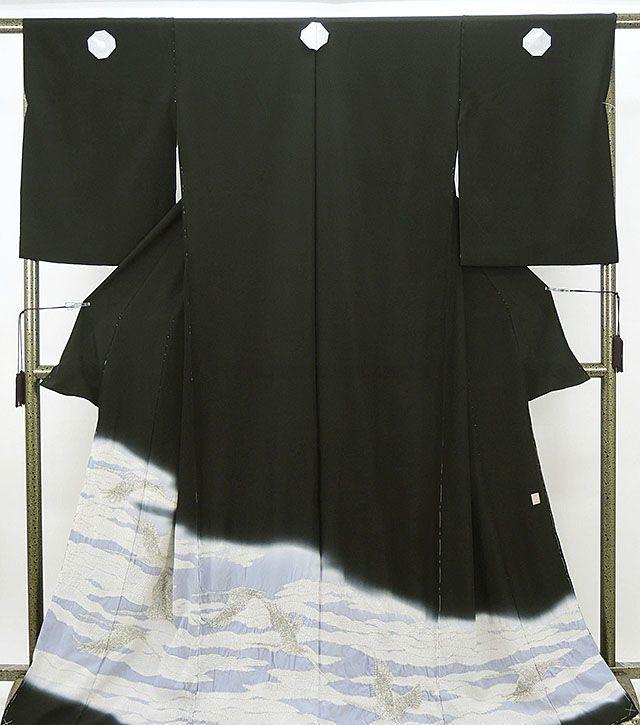 留袖 新品 仕立付き 正絹 十日町友禅 滝泰謹製 留袖 新品 未仕立