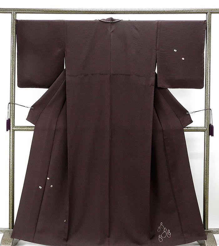 単衣 訪問着 新品仕立済 正絹 単衣 青柳謹製 蔵家三代 宝尽くし模様 訪問着 新品 仕立て上がり 着物