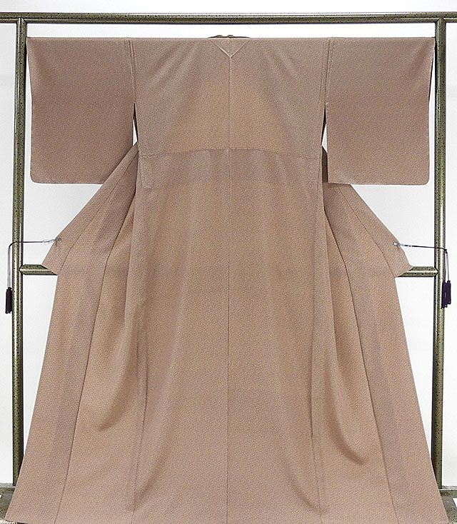 単衣 小紋 新品仕立済 正絹 単衣 小花模様 小紋 新品 仕立て上がり 着物