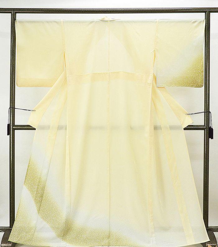 夏物 訪問着 新品仕立済 正絹 夏物 ぼかし模様 絽訪問着 新品 仕立て上がり 着物