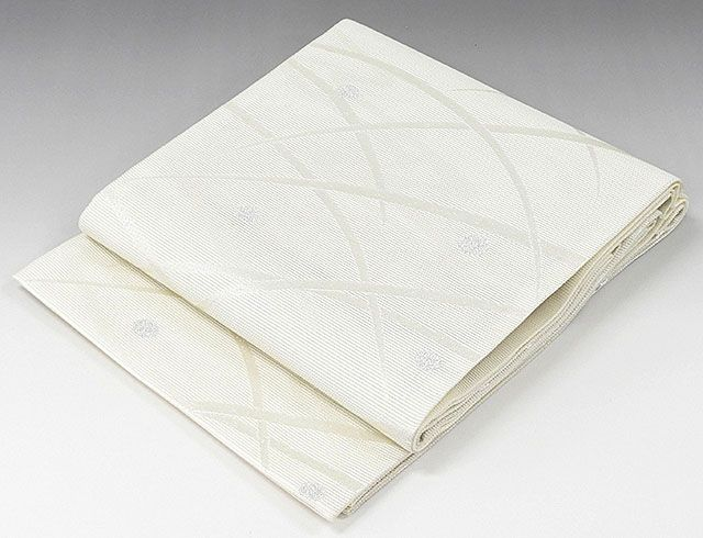 夏物 袋帯 新品仕立済 正絹 夏物 京都イシハラ謹製 露芝模様 絽袋帯 新品 仕立て上がり