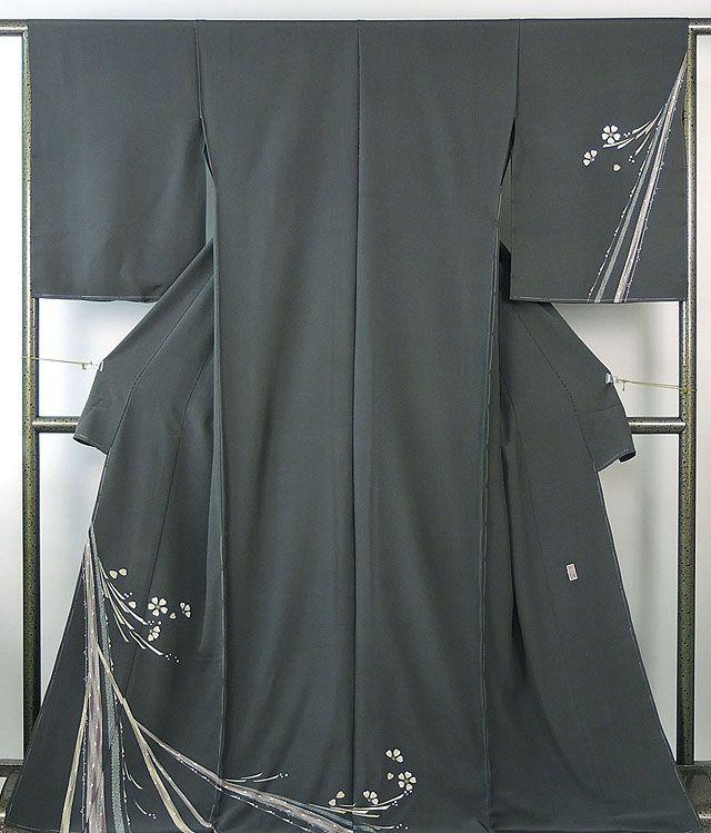 訪問着 新品仕立付き 正絹 加賀友禅 牧野顕三作 訪問着 新品 未仕立 フルオーダー 誂え仕立て