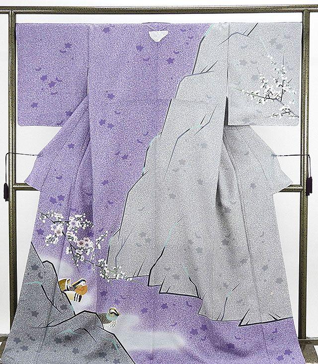 訪問着 未着用超美品 正絹 人間国宝 羽田登喜男作 TOKIOetTOKI 訪問着 未使用 新古品 着物