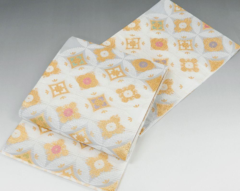袋帯 新品仕立済 正絹 西陣 橋本清織物謹製 加賀の至宝 つづれ袋帯 新品 仕立て上がり