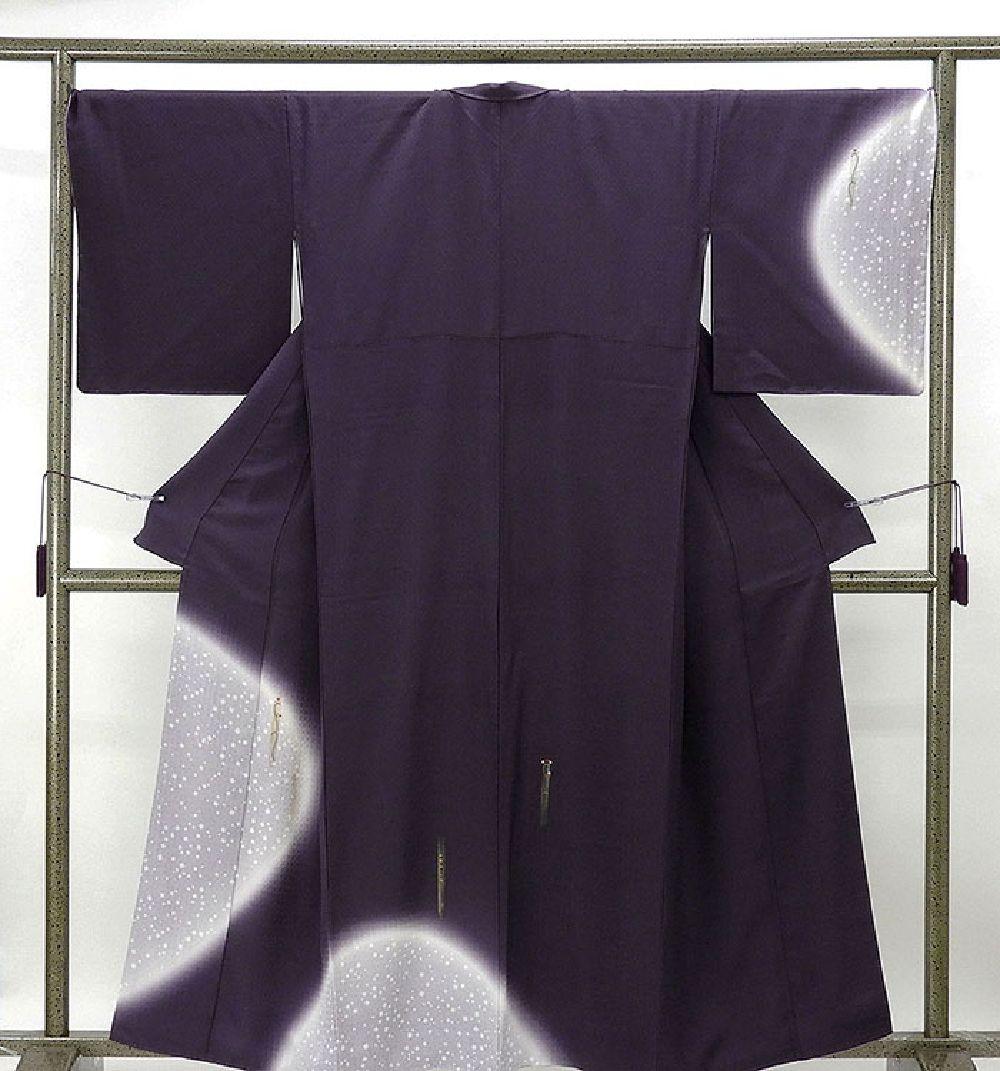 訪問着 未着用美品 正絹 小花切紙散らし模様 付下訪問着 未使用 新古品 着物