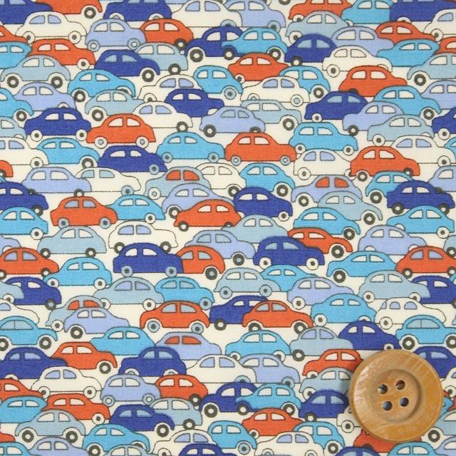 自由印刷架子貸款46(Cars汽車)藍色&紅[09-3639172]
