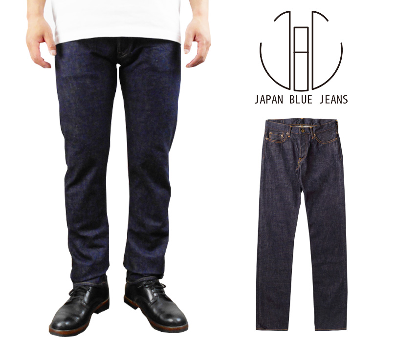 ジャパンブルージーンズ JAPAN BLUE JEANS メンズ スリム ジーンズ「12.5オンス ビンテージ セルビッチ ブラウンミックス デニム パンツ 」テーパード JB0404-J (ID) 日本製 made in japan 10P30May15