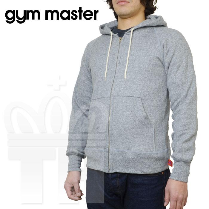 ジムマスター gym master 人気 メイドインカナダ 定番 スウェット生地 パーカー「Raglan Sweat Fullzip Hood ラグラン スウェット フルジップ パーカ」3020C