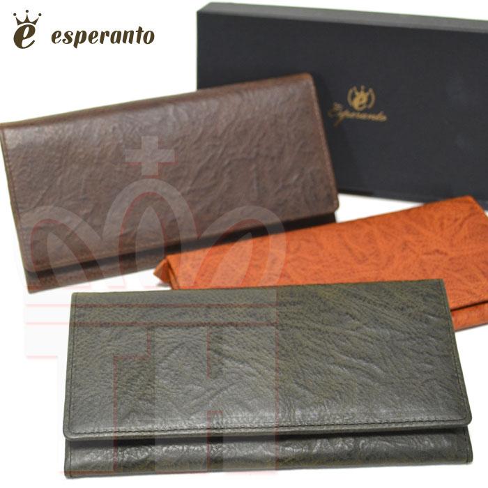 エスペラント esperanto 革財布 イタリアレザー [別注 エスペラントレザー ロングウォレット] 長財布 ESP-6280 メンズ レディース ユニセックス