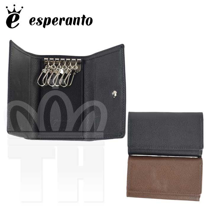 エスペラント esperanto 人気 ジャパンレザー 日本製 「スティア レザー キーケース」メンズ レディース ESP-6470