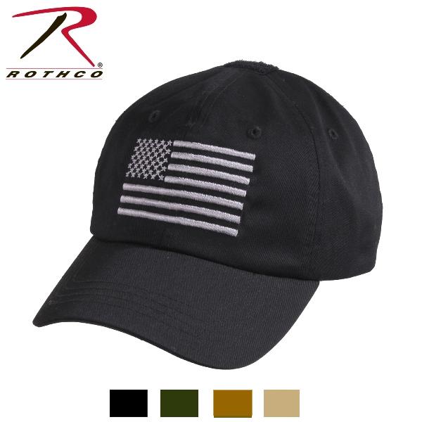 速配 ロスコ USフラッグ タクティカル キャップRothco Tactical OperatorCap 当店限定販売 超特価 4364 Flag With 4色 US