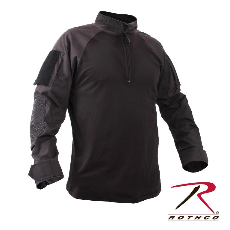 ロスコ コンバットシャツジッパー付Rothco1/4 Zip Combat Shirt99010