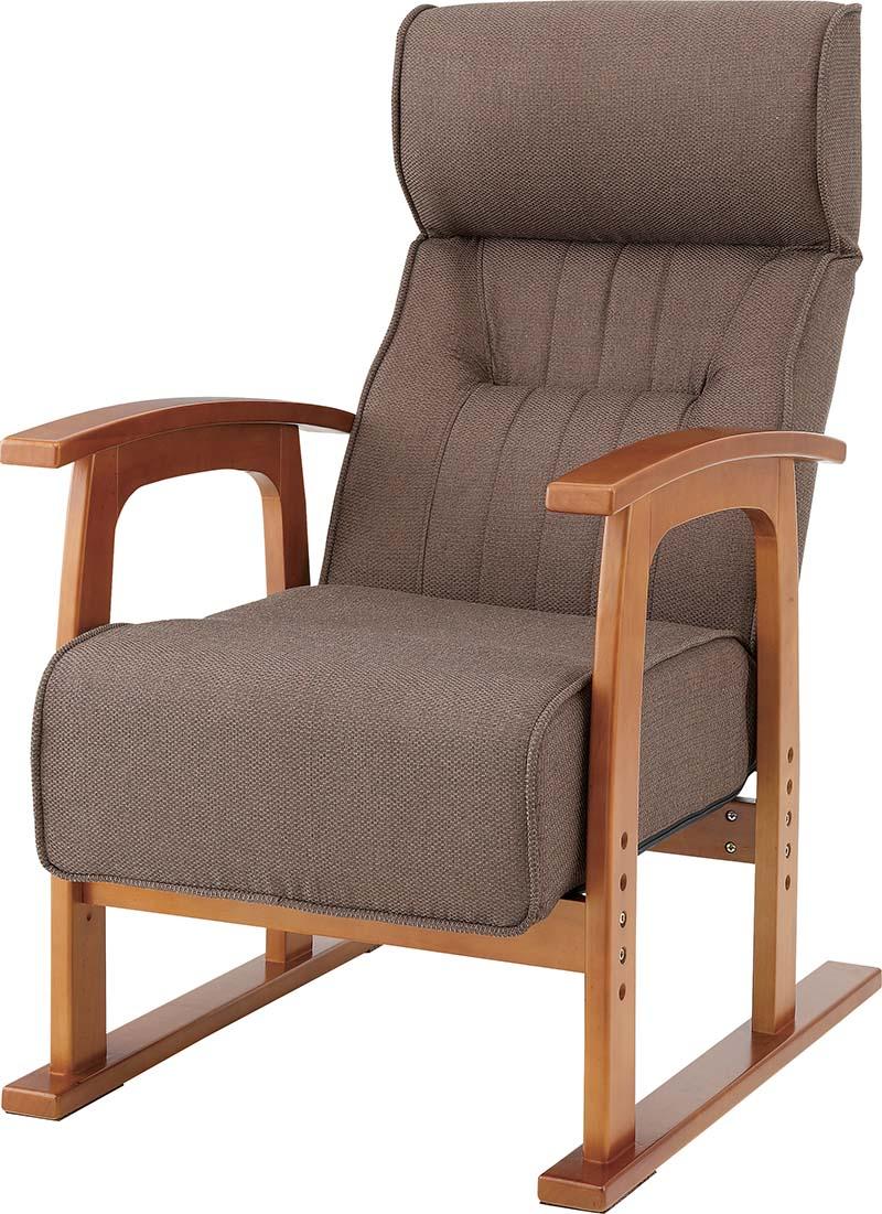 【送料無料】【即納可能】キング高座椅子 THC-106 ポケットコイルクッション座面 究極の座り心地抜群 レバー式リクライニングチェア 肘付き高座椅子 リクライニング椅子らくらくチェア枕付リクライナー安楽椅子 クレムリン やすらぎチェア パーソナルチェア リラックスチェア