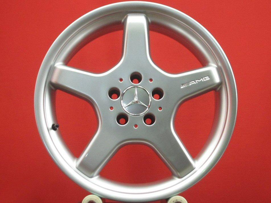 aa 中古 ホイール 18インチ 4本セット AMG モノブロックスタイリングIII 8 9Jx18 E 店 +30 シルバー 5 銀色 +39 日本メーカー新品 系 112