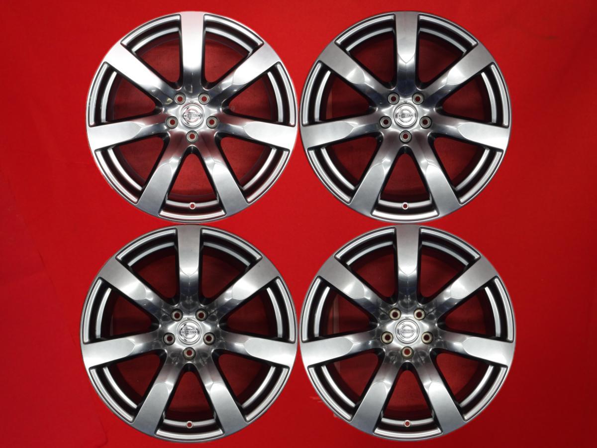 【 RAYS製 鍛造 軽量 】 GT-R R35 前期 純正 ホイール 4本 ★ 9.5/10.5J-20 114.3 5穴 +45/+25 ハブ66 ★ aa20