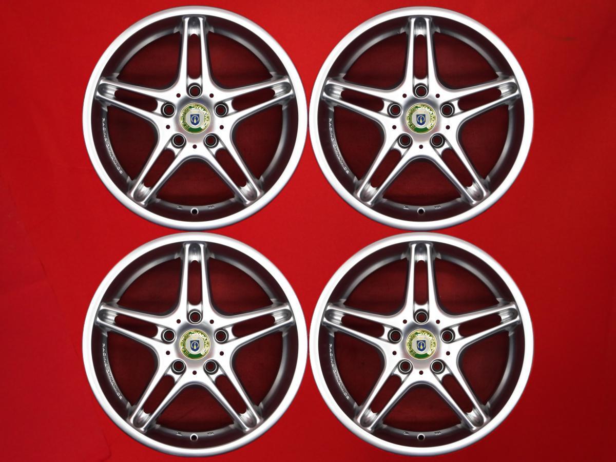 ◇限定Special Price aa 中古 ホイール 17インチ 人気の製品 4本セット レーシング ダイナミクス RD3 7.5Jx17 +34 5 3シリーズ 銀色 クーペ 120 X3 X1 セダン 系 ツーリング シルバー カブリオーレ