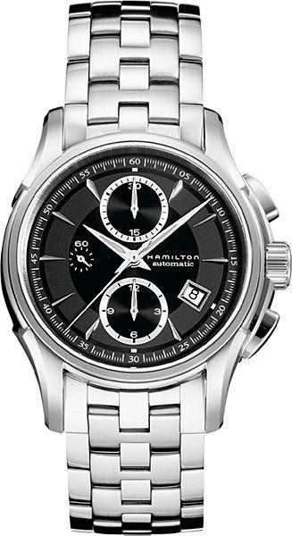 送料無料 HAMILTON ハミルトン 腕時計 ジャズマスターオートクロノ Ref.H32616133 国内規品 メンズ 防水 機械式自動巻 ブラック ギフト 誕生日 プレゼント ジャズマスター