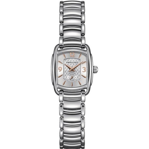 送料無料 HAMILTON ハミルトン 腕時計 LADY Bagley Quartz バグリー クォーツ レディース H12351155 国内正規品 ピンクゴールド×シルバー 正規品 ギフト 誕生日 プレゼント 就職祝い