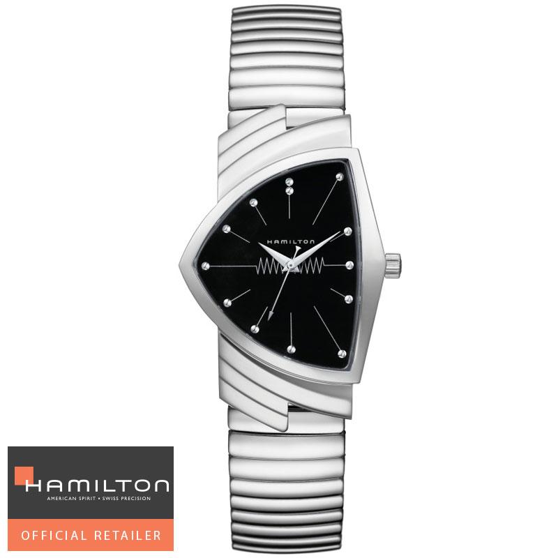 送料無料 HAMILTON ハミルトン Ventura Classic Quartz 腕時計 ベンチュラ フレックスブレスレットクォーツ H24411232 国内正規品メンズ