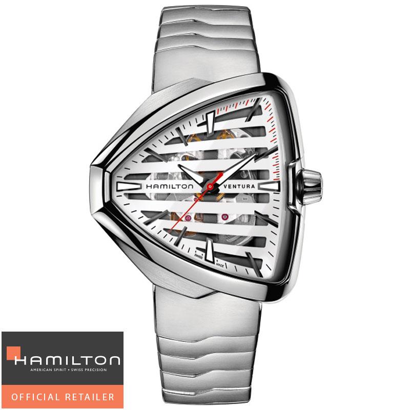 送料無料 HAMILTON ハミルトン 腕時計 Ventura Elvis80 ベンチュラ エルビス80 スケルトン オートマチック H24555181 国内正規品メンズアメリカンクラシック ギフト 誕生日 プレゼント バレンタイン