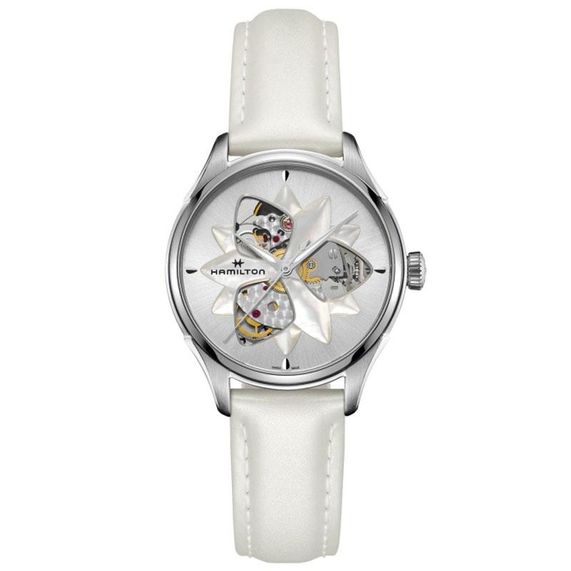 ハミルトン Jazzmaster オープンハート オートマチックレディース 返品交換不可 国内正規品 送料無料 HAMILTON レディース 腕時計 H32115991 オープンハートオートマチックレディー 新色追加して再販