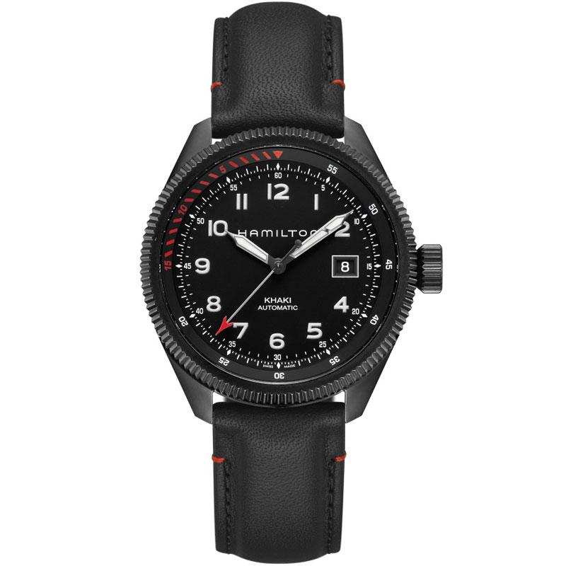 送料無料 HAMILTON ハミルトン 腕時計 TAKEOFF AIR ZERMATT カーキテイクオフ エアーツェルマット H76695733 国内正規品 防水 自動巻き パイロット ギフト 誕生日 プレゼント