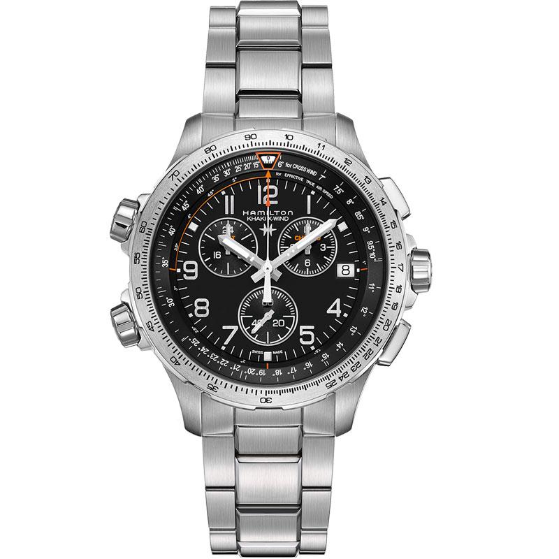 HAMILTON ハミルトン 腕時計 X-Wind Chrono Quartz GMT カーキ X-ウィンド GMT H77912135 国内正規品