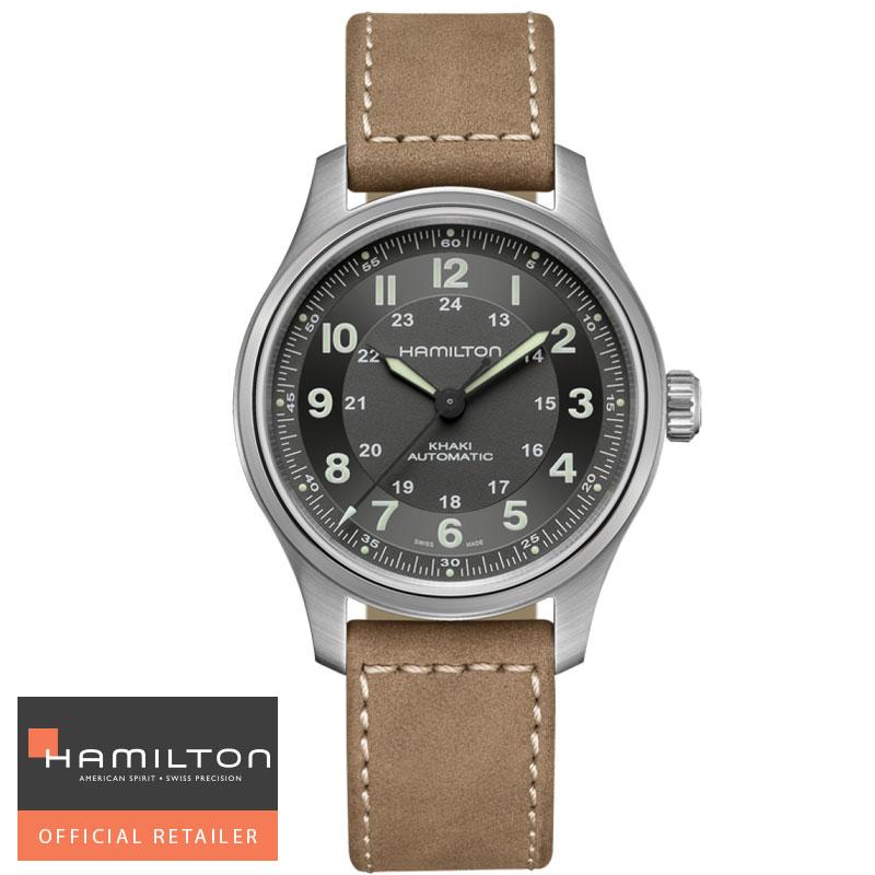 OUTLET SALE ハミルトン カーキ バーゲンセール フィールド チタニウムオート メンズ 国内正規品 送料無料 H70545550 フィールドチタニウムオート 腕時計 42mm HAMILTON