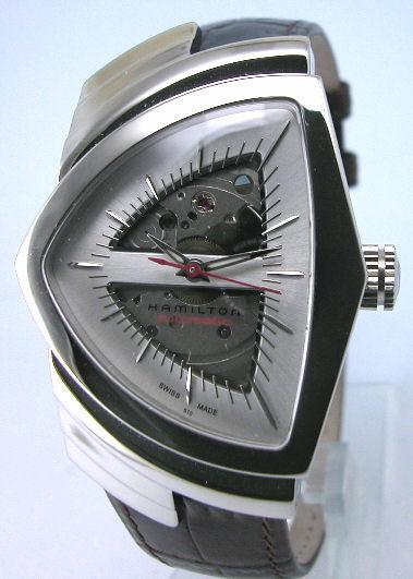 送料無料 HAMILTON ハミルトン 腕時計 ベンチュラ オートマチック H24515551 正規品 メンズ 防水 オートマチック ブラック 皮ベルト ギフト 誕生日 プレゼント