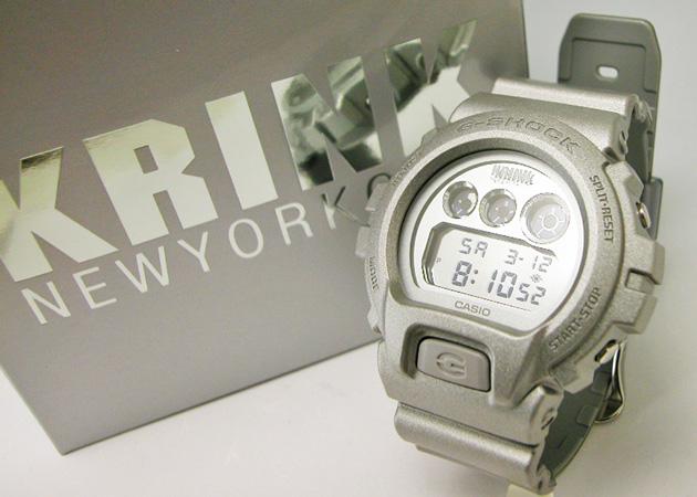 "G 冲击卡西欧""协作 DW-6900KR-8JR KRINK (Klink) 模型"