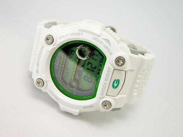 Белые часы касио 7900